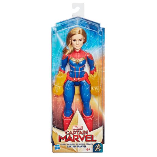 Marvel Captain Marvel Movie - Cosmic Captain Marvel  Doll