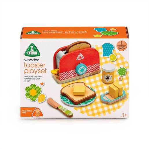 Early Learning Centre Wooden Toaster Playset