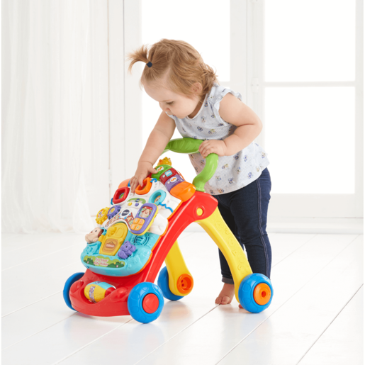 VTech Baby First Steps Baby Walker - Primary