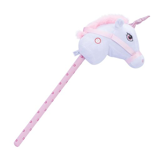 Pitter Patter Pets Giddy Up 90cm Hobby Horse - White