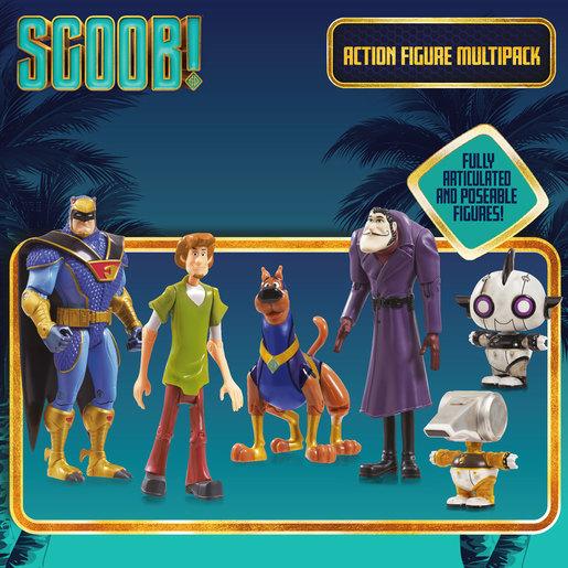 Scoob! Action Figure 5 Pack