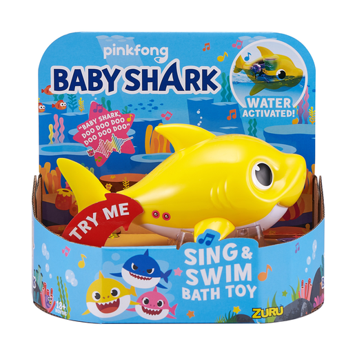 Baby Shark Sing and Swim Bath Toy - Baby Shark By ZURU