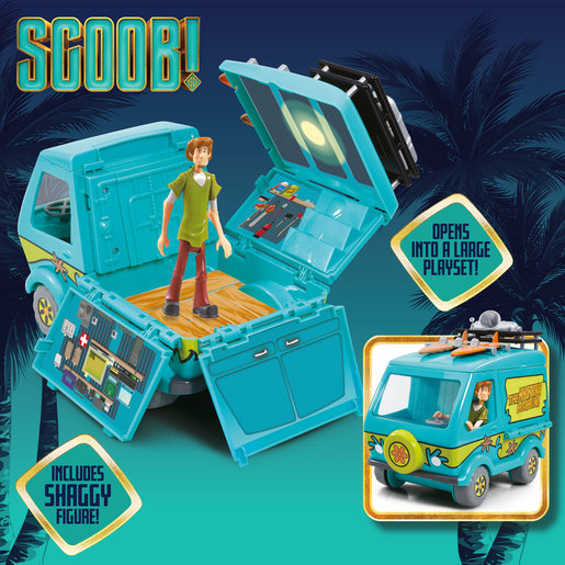 Scoob! The Mystery Machine Playset and Figure
