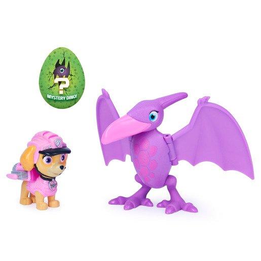 Paw Patrol Dino Rescue - Skye And Pterodactyl Figure