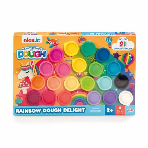 Nick Jr. Ready Steady Dough Rainbow Delight Dough