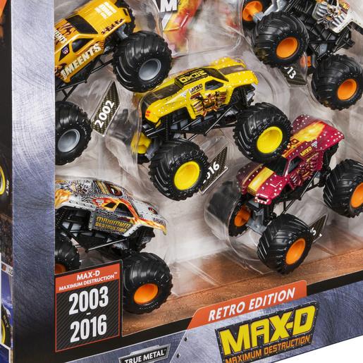 Monster Jam 1:64 True Metal Monster Truck 5 Pack - Max-D