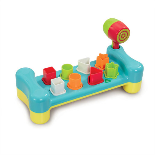 Early Learning Centre Shape Sorting Hammer Bench