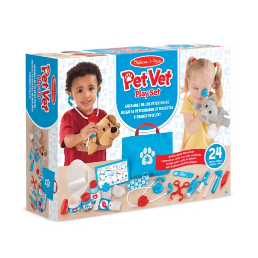 Melissa & Doug Pet Vet Play Set - Examine and Treat