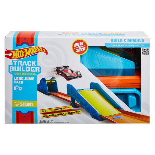 Hot Wheels Track Builder Unlimited - Long Jump Pack