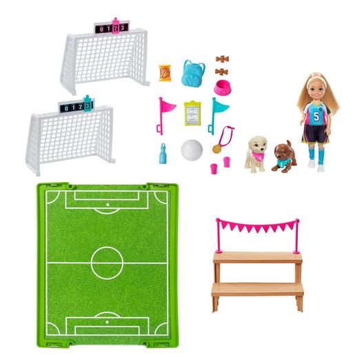 Barbie Chelsea Football Playset