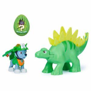 Paw Patrol Dino Rescue Figures and Mystery Dinosaur - Rocky and Stegosaurus