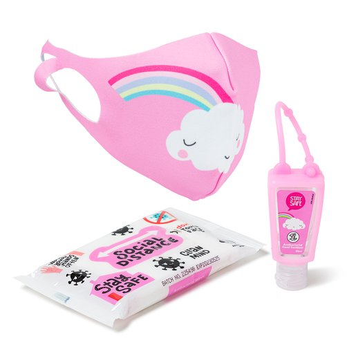 Back To School Stay Safe Pack - Pink