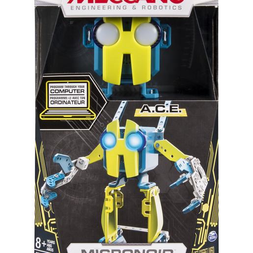 Meccano Programmable Robot Building Kit - Ace