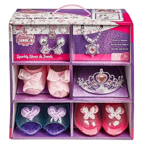 Unique Boutique Sparkly Shoes & Jewels