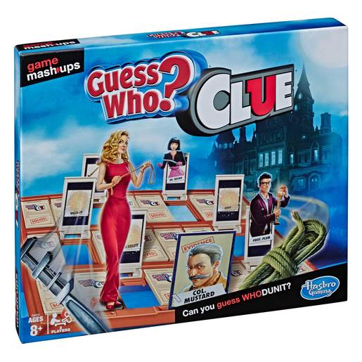 Cluedo Guess Who? Game