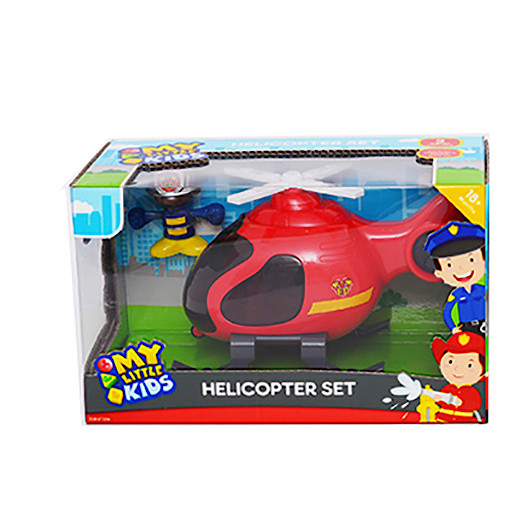 Vehicle Set - Helicopter (Colours Vary)