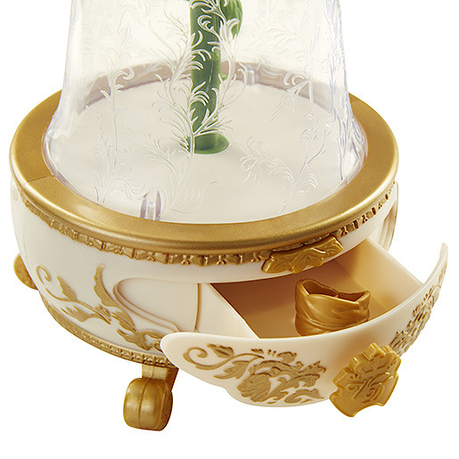 Beauty and the Beast Enchanted Rose Jewellery Box