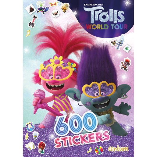 DreamWorks Trolls World Tour - 600 Stickers Book