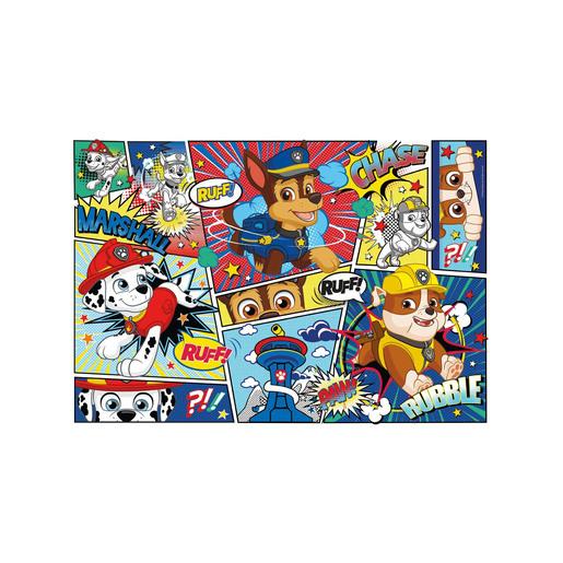 Paw Patrol Supercolour Puzzle - 104 Pieces
