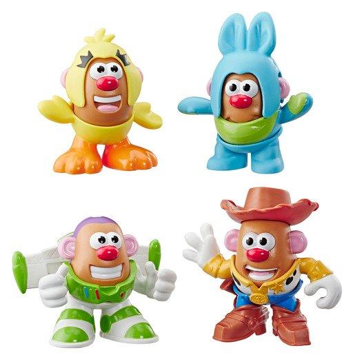 Disney Pixar Toy Story 4 Mini Mr. Potato Head 4 Pack