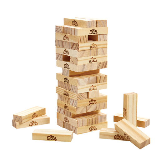 Addo Games Wooden Topple Tower