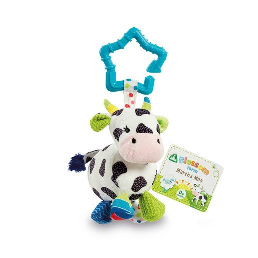 Blossom Farm Martha Moo Hanging Toy
