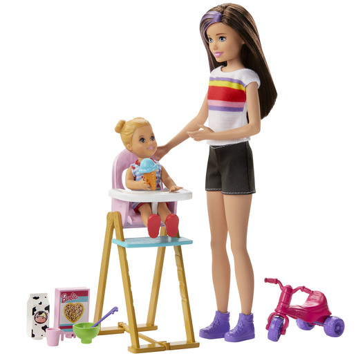 Barbie Skipper Babysitter - Stripey T-Shirt