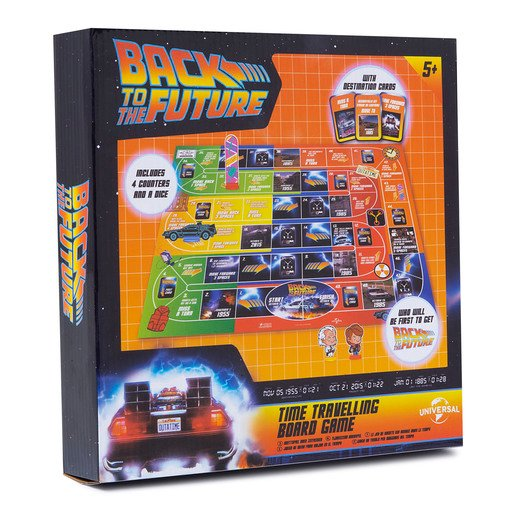 Back To The Future Board Time Travelling Board Game