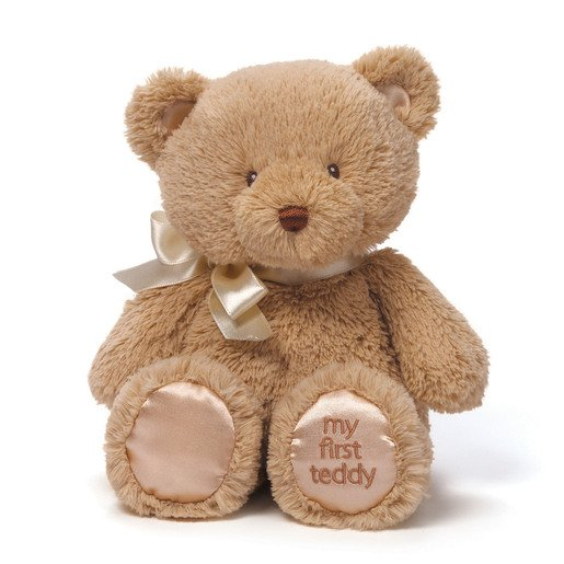 Baby GUND: My First Teddy 25 cm Plush - Tan