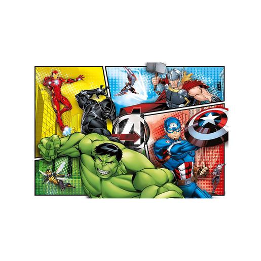 Avengers Supercolour Puzzle - 104 Pieces