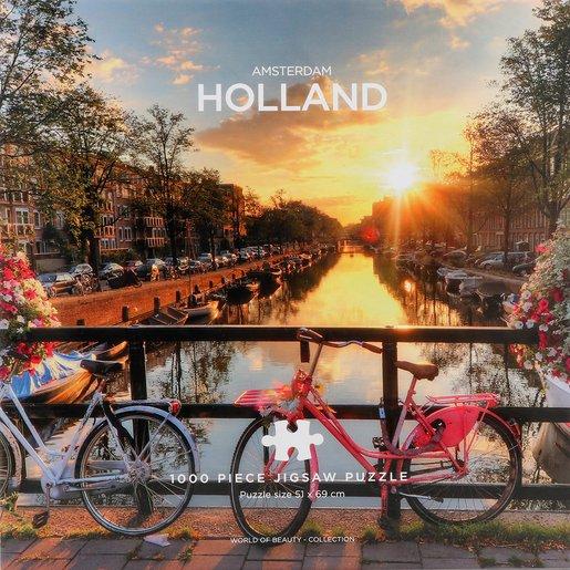 Amsterdam Puzzle - 1000 Pieces