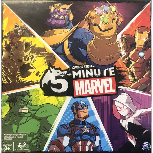 5-Minute Marvel Game