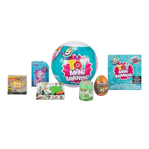 5 Surprise Toy Mini Brands (Styles Vary)