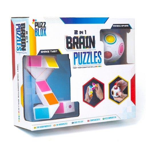 2 In 1 Brain Puzzles