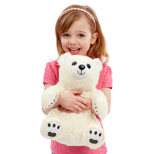 Snuggle Buddies Endangered Animals Plush Toy - Polar Bear