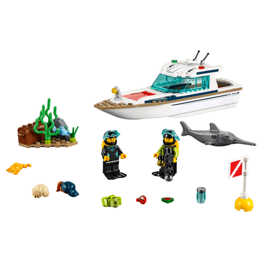 LEGO City Diving Yacht - 60221