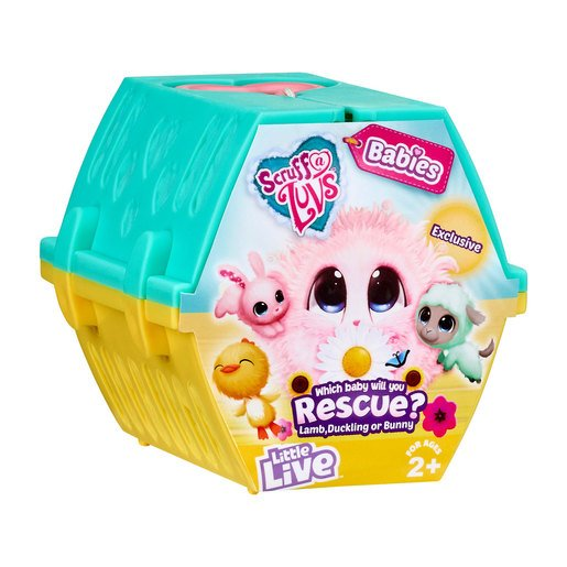 Scruff-a-Luvs Easter Babies Rescue Pet (Styles Vary)
