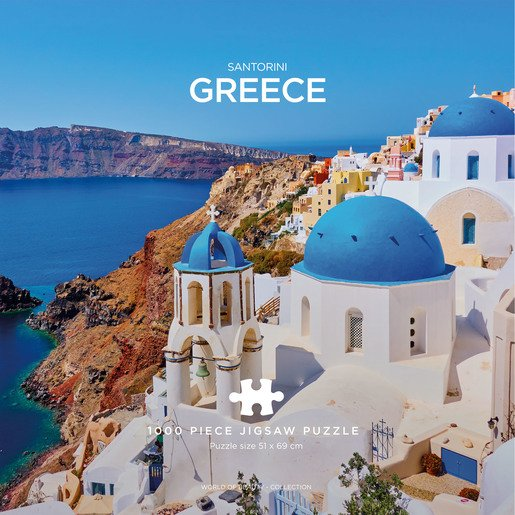 Santorini Puzzle - 1000 Pieces