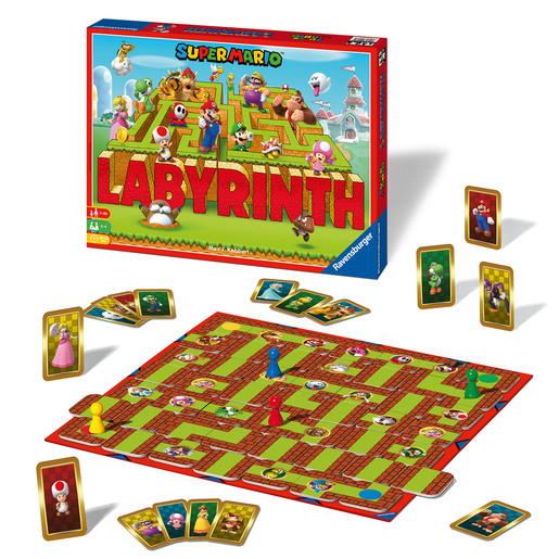 Ravensburger: Super Mario Labyrinth - The Moving Maze Game