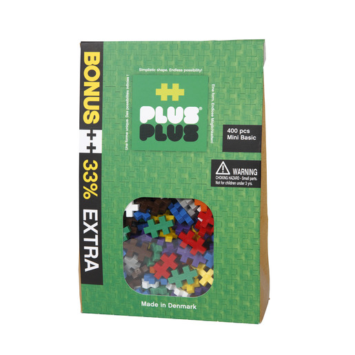 Plus-Plus 400 Pieces - Basic Kit