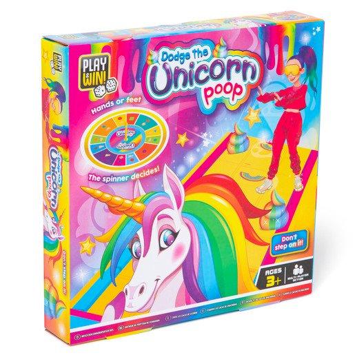Play & Win Dodge The Unicorn Poop