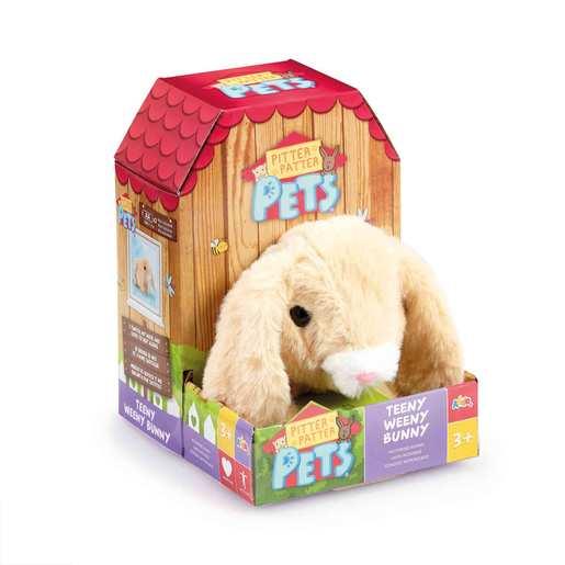 Pitter Patter Pets Teeny Weeny Bunny - Floppy Eared