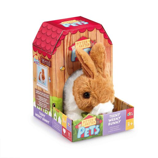 Pitter Patter Pets Teeny Weeny Bunny - Brown