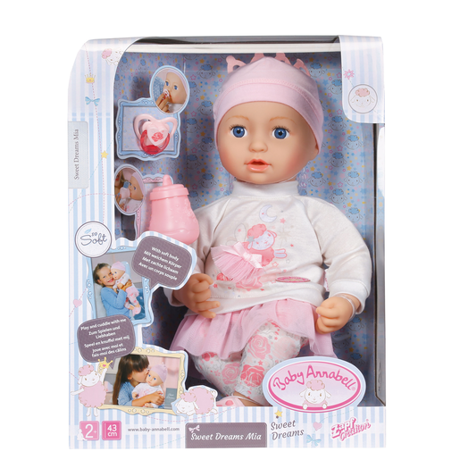 Baby Annabell Sweet Dreams Mia 43cm Doll