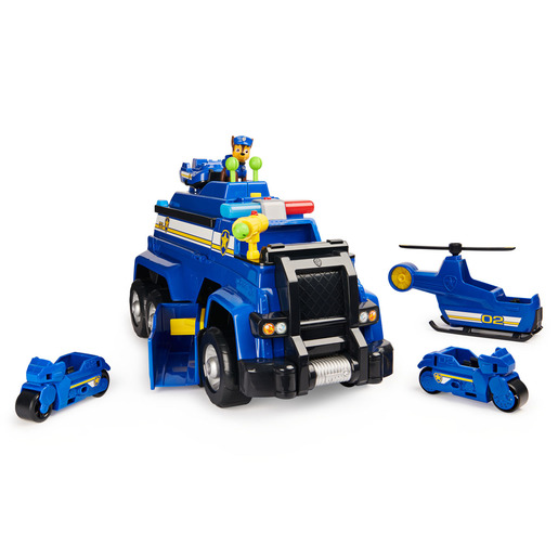 Paw Patrol 5-in-1 Chase's Ultimate Police Cruiser Vehicle