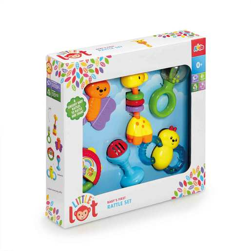 Little Lot Baby's First Rattle Set