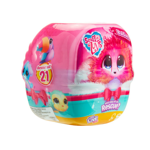 Little Live Pets Scruff-a-LuvsBabies! Rescue Pet Series 3 (Styles Vary)