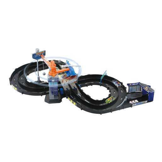 Turbo Force Racers Highway Playset
