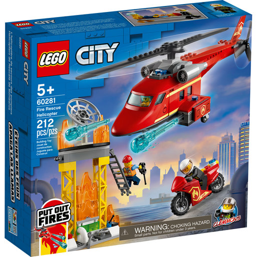 LEGO City Fire Rescue Helicopter - 60281