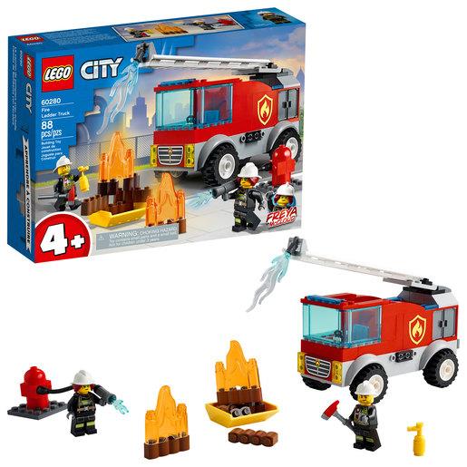 LEGO City Fire Ladder Truck - 60280